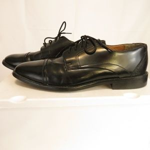 Nunn Bush Mens 9.5 M Oxfords Dress Shoe Cap Toe